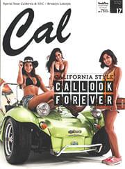 雑誌「cal」に掲載されました!